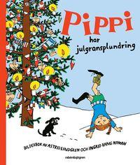 Pippi har julgransplundring (kartonnage)
