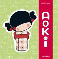 Kokeshi - Aoki (kartonnage)
