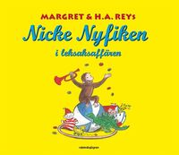 Nicke Nyfiken i leksaksaff�ren (kartonnage)