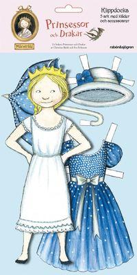 Klippdocka M�nstr�le:Prinsessor och Drakar (kartonnage)