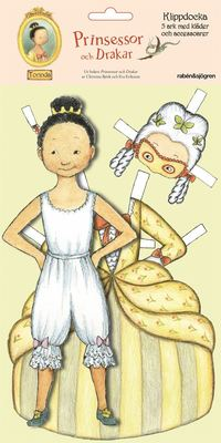 Klippdocka Torinda : Prinsessor och drakar (kartonnage)