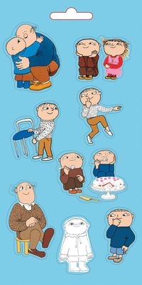 Alfons �berg - Stickers : 18 stickers ()