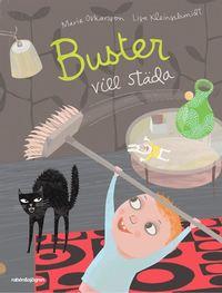 Buster vill städa (kartonnage)