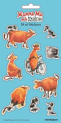 Mamma Mu och Kr�kan - Stickers (inbunden)