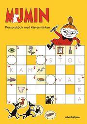 Mumin – Korsordsbok med klistermärken