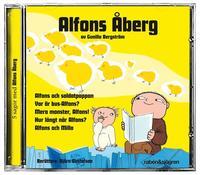 Alfons �berg (gul) - 5 sagor med Alfons �berg (kartonnage)