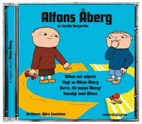 Alfons �berg (bl�) - 4 sagor med Afons �berg (kartonnage)