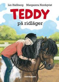 Teddy p� ridl�ger (kartonnage)