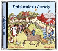 Emil på marknad i Vimmerby (ljudbok)