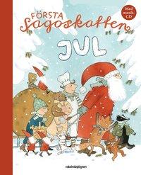 F�rsta sagoskatten : jul (inbunden)