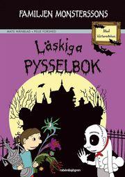 Familjen Monsterssons läskiga pysselbok : med klistermärken