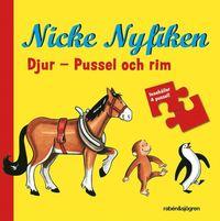 Nicke Nyfiken - Djur : Pussel och rim (spel)