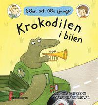 Krokodilen i bilen (kartonnage)