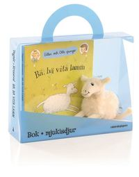 B�, b� vita lamm - Presentf�rpackning : Bok + mjukisdjur (inbunden)