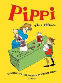 Pippi g�r i aff�rer (inbunden)