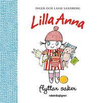 Lilla Anna flyttar saker (kartonnage)