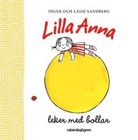 Lilla Anna leker med bollar (kartonnage)
