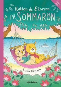 Katten & Ekorren p� Sommar�n (h�ftad)