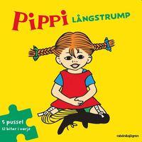 Pippi L�ngstrump Pusselbok : 5 pussel med 12 bitar i varje (spel)