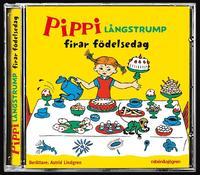 Pippi L�ngstrump firar f�delsedag (ljudbok)