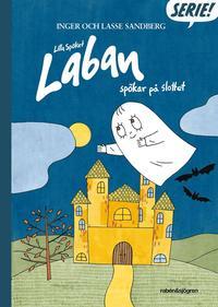 Lilla Spöket Laban spökar på slottet (inbunden)