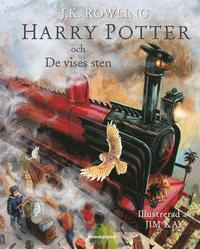 Harry Potter och De vises sten ill (inbunden)