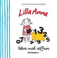 Lilla Anna leker med siffror (kartonnage)