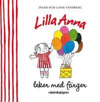 Lilla Anna leker med färger (kartonnage)