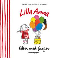 Lilla Anna leker med f�rger (kartonnage)