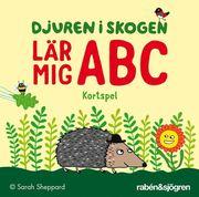 Djuren i skogen lär mig ABC – kortspel