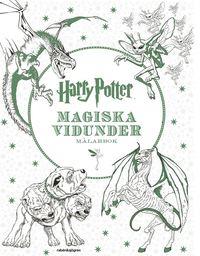 Harry Potter - Magiska vidunder M�larbok (inbunden)