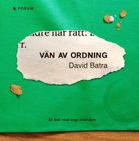 V�n av ordning : en bok med arga ins�ndare (kartonnage)