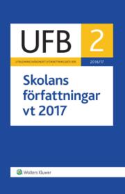 UFB 2 Skolans författningar vt 2017