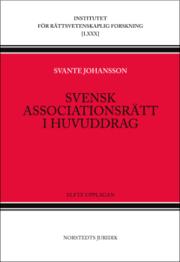 Svensk associationsrätt i huvuddrag