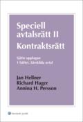 Speciell avtalsr�tt II : kontraktsr�tt. H. 1, S�rskilda avtal