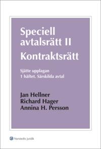 Speciell avtalsr�tt II : kontraktsr�tt. H. 1, s�rskilda avtal (h�ftad)
