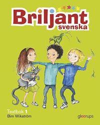 Briljant Svenska Textbok 1 inkl CD (kartonnage)