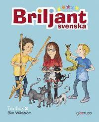 Briljant Svenska Textbok 2 inkl CD (kartonnage)