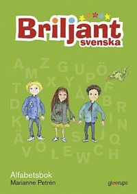 Briljant Svenska Alfabetsbok (h�ftad)