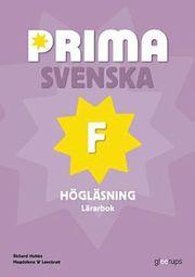 Prima Svenska F Högläsning Lärarbok