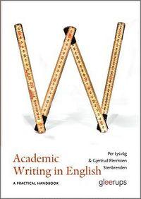 Academic writing and publishing a practical handbook