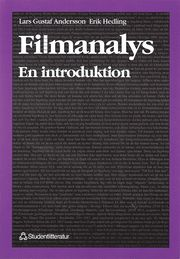 Filmanalys – en introduktion