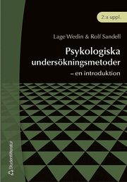 Psykologiska undersökningsmetoder – – en introduktion