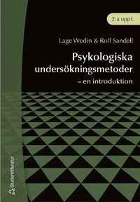 Psykologiska unders�kningsmetoder : - en introduktion (h�ftad)