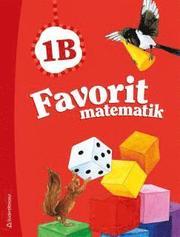 Favorit matematik 1B – Elevpaket (Bok + digital produkt)