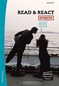 Read & React Interactive- Elevpaket (Bok + digital produkt) : Engelska 5 (h�ftad)
