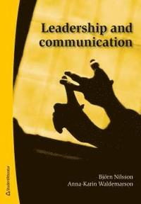 Leadership and communication (inbunden)
