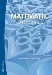Matematik – – specialisering