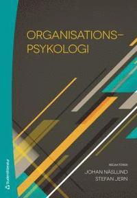 Organisationspsykologi (inbunden)