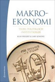 Makroekonomi – Teori politik och institutioner (bok + digital produkt)